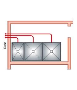 Nezávislé plnící potrubí TWV