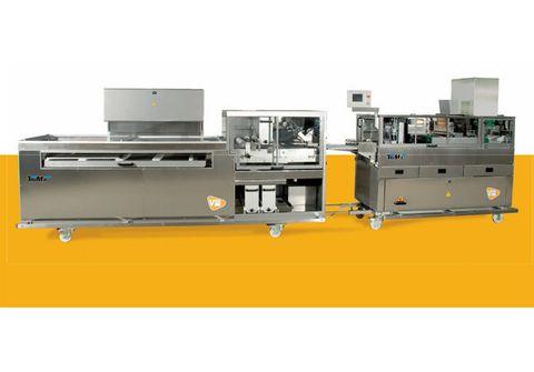 Stroj na čtverhranné pečivo VIEW | Pekass